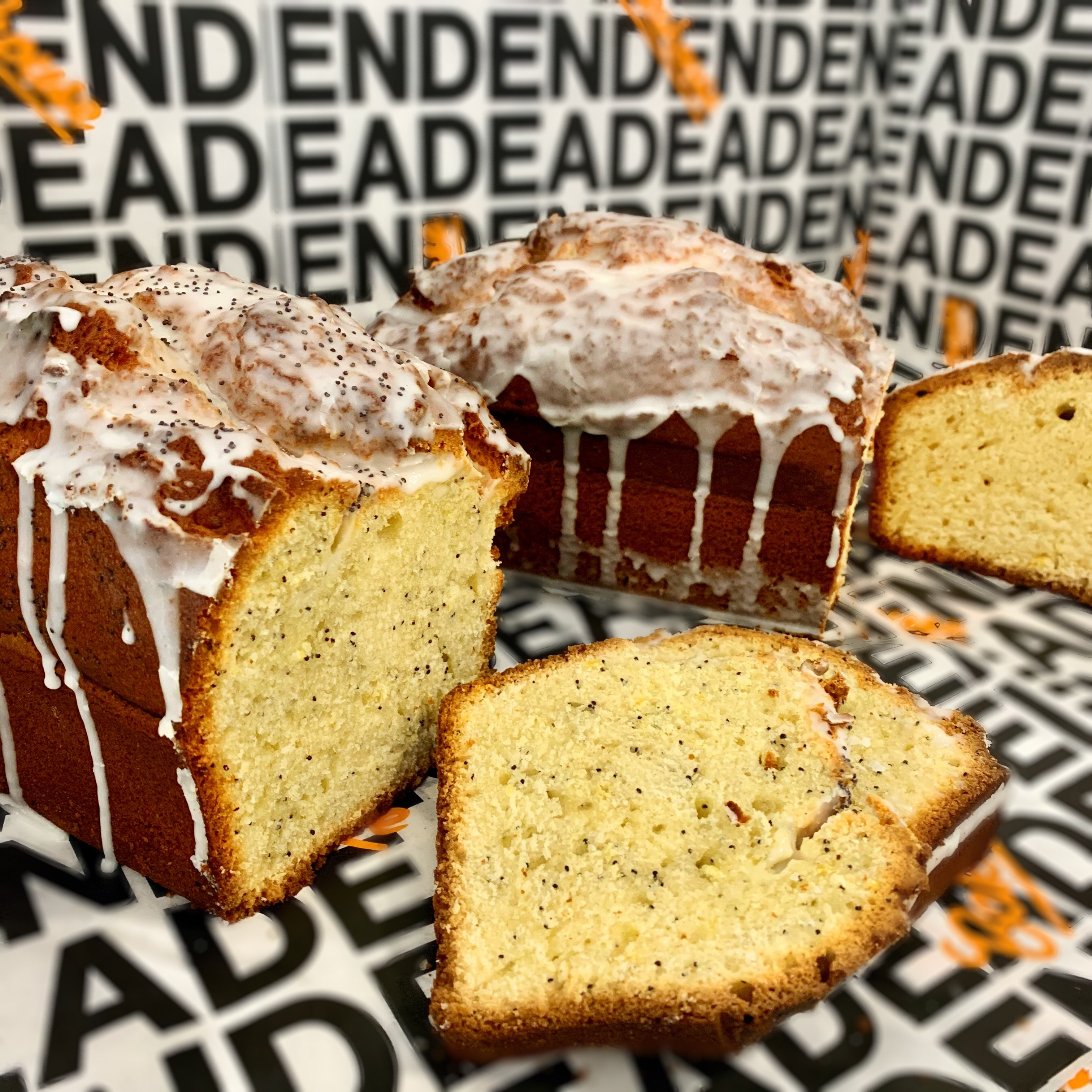 Almond Cherry Pound Cake